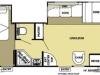 30\' RV Rental - Floor Plan